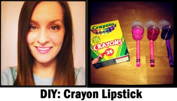 DIY Crayon Lipstick