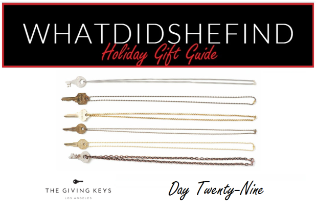 Photo and logo as seen on Thegivingkeys.com