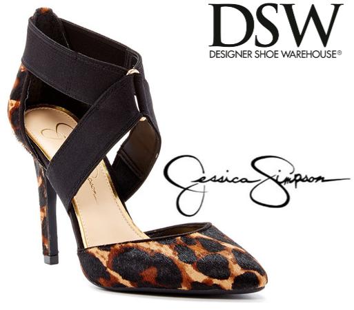 225a4ea4df42  DealOfTheDay  Jessica Simpson Leopard Pumps. I took my first trip to  Designer Shoe Warehouse (DSW) ...